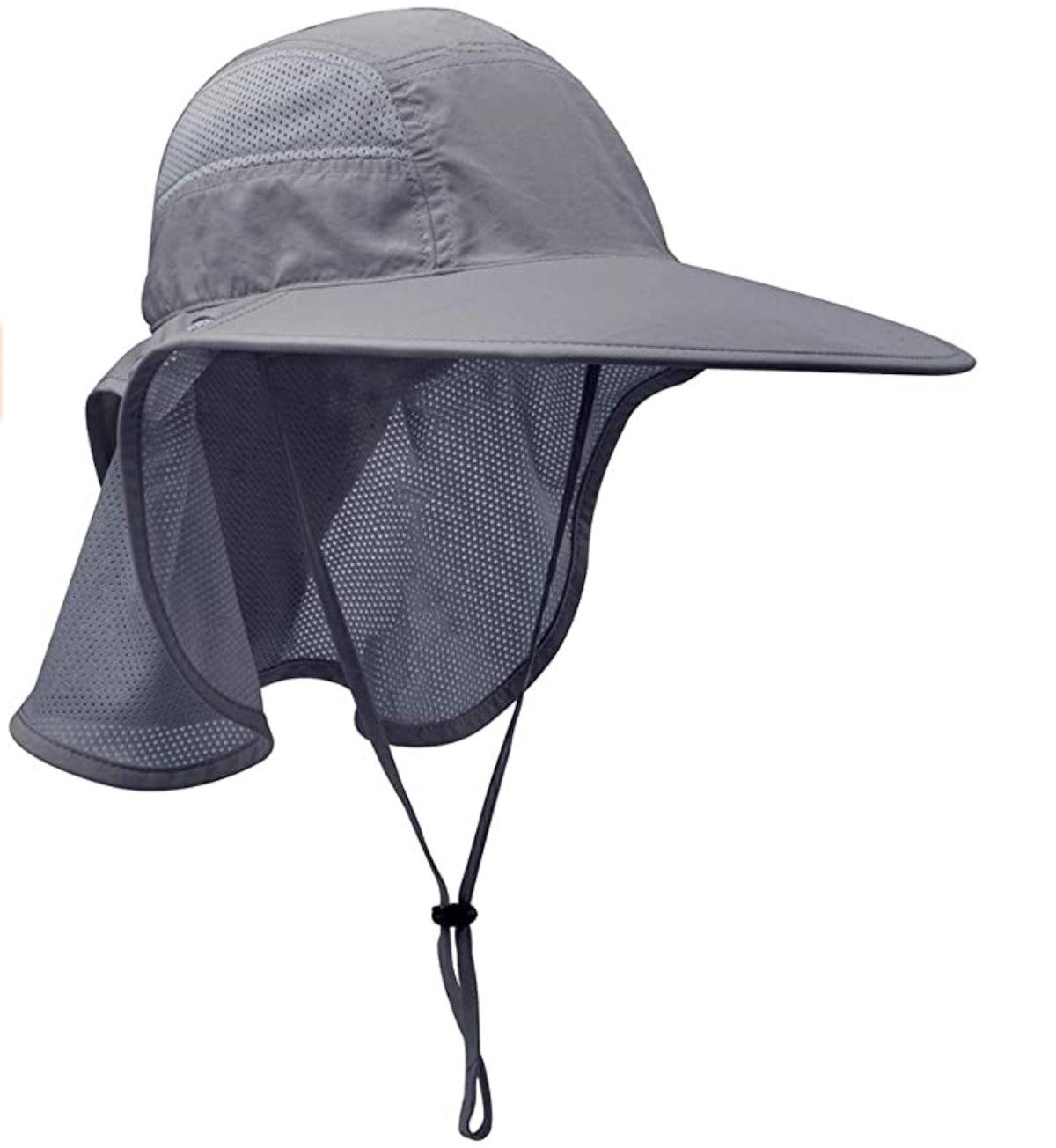 Lenikis Sun Hat With Neck Flap