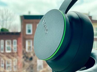 Xbox logo on Xbox Wireless Headset