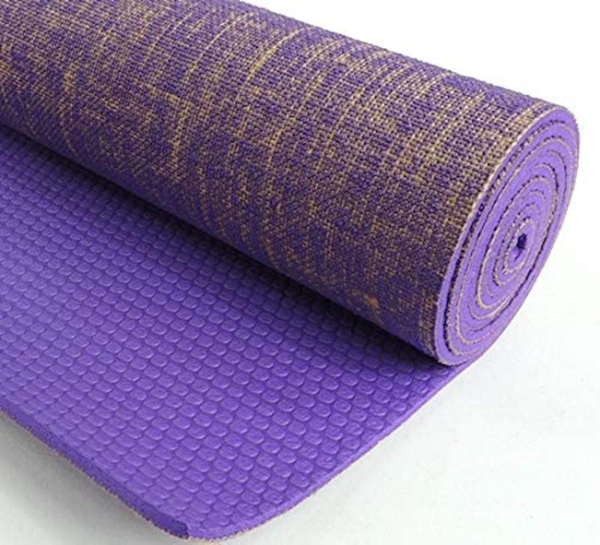 Kakaos Natural Jute Yoga Mat