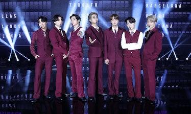 BTS at the 2020 Billboard Music Awards