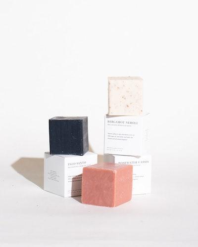 Soap Bundle: Rosewater Cassis, Palo Santo, Bergamot Neroli