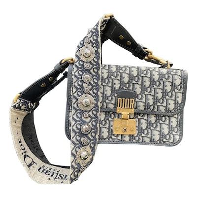 Vintage Dioraddict Cloth Handbag