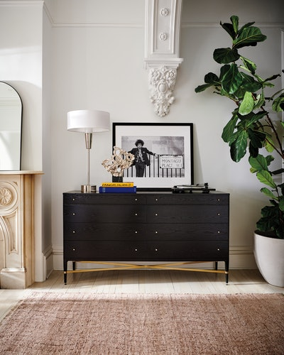 CB2's Paul McCobb collection features furniture such as dressers