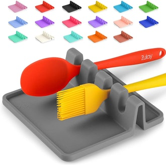 Zulay Kitchen Silicone Utensil Rest