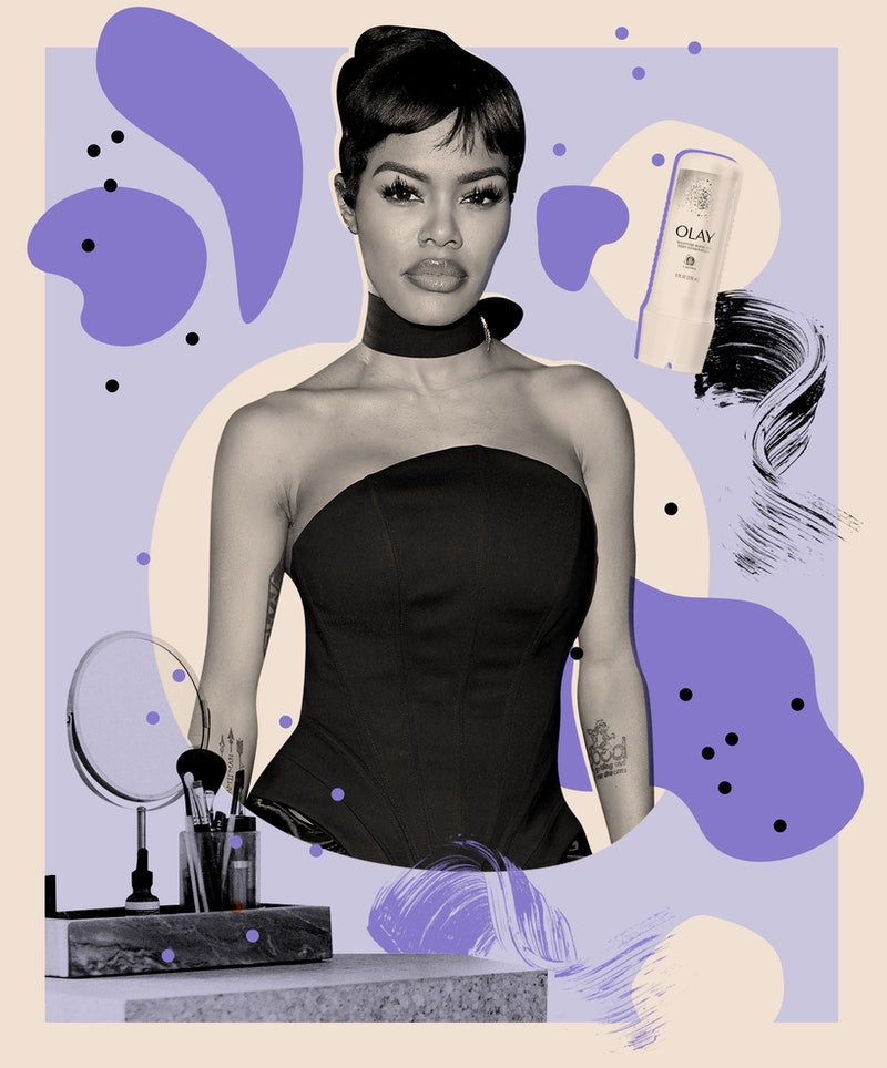 Teyana Taylor's favorite beauty products and go-to self-care practices.