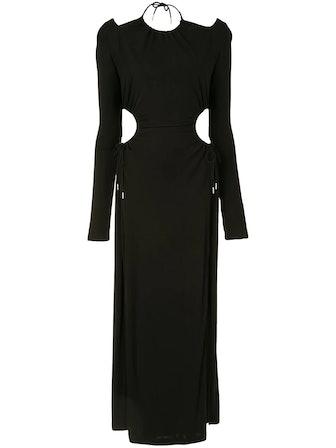 Ruched Cutout Dress