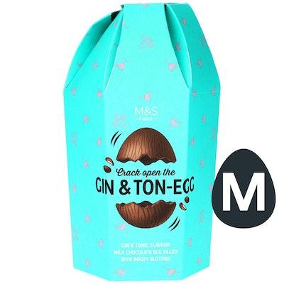 M&S Gin & Tonic Milk Chocolate Egg