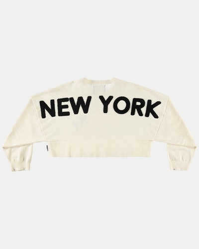 New York Crop Sweater