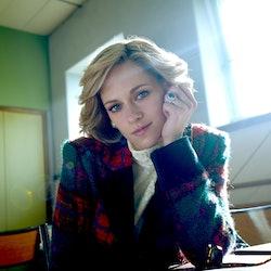 Kristen Stewart as Princess Diana in the biopic, 'Spencer.'