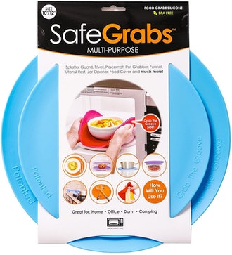 Safe Grabs Multipurpose Microwave Splatter Guard (Set of 2)