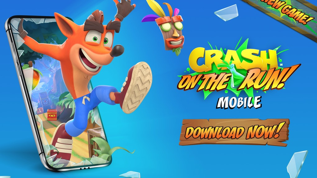 You can play the 'Crash Bandicoot: On The Run!' mobile game on iOS and Android devices.