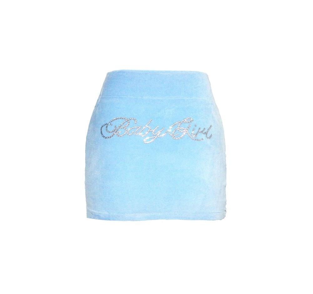 Blue Baby Girl Skirt
