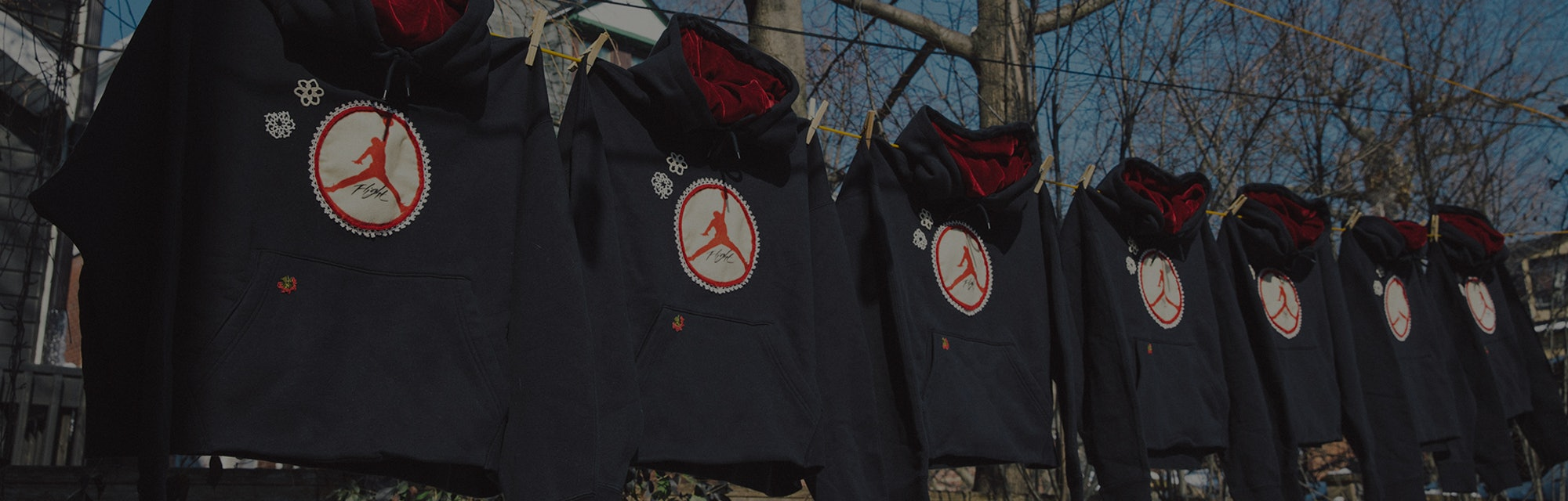 Jordan Brand Bentgablenits Custom WNBA Sweatsuits