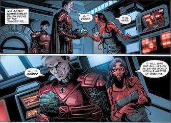 Star Wars Mandalorian Season 3 biowarfare bioweapon