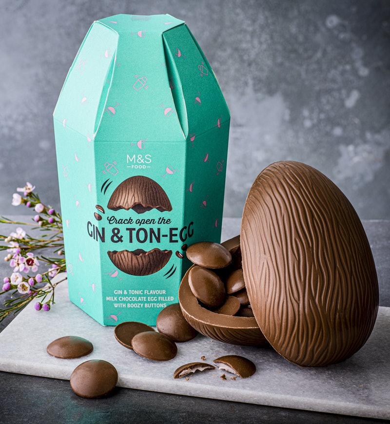 marks and spencers gin and tonic easter egg