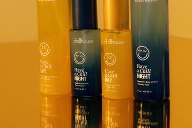 Chillhouse's new day and night skin and body care line.