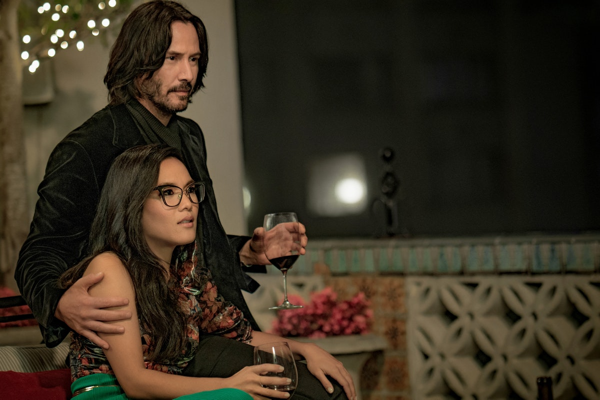 Keanu Reeves and Ali Wong in 'Always Be My Maybe,' a great Netflix movie to watch with your partner