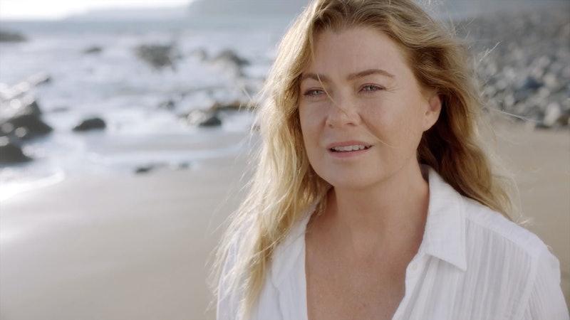 Meredith on Grey's Anatomy via the ABC press site