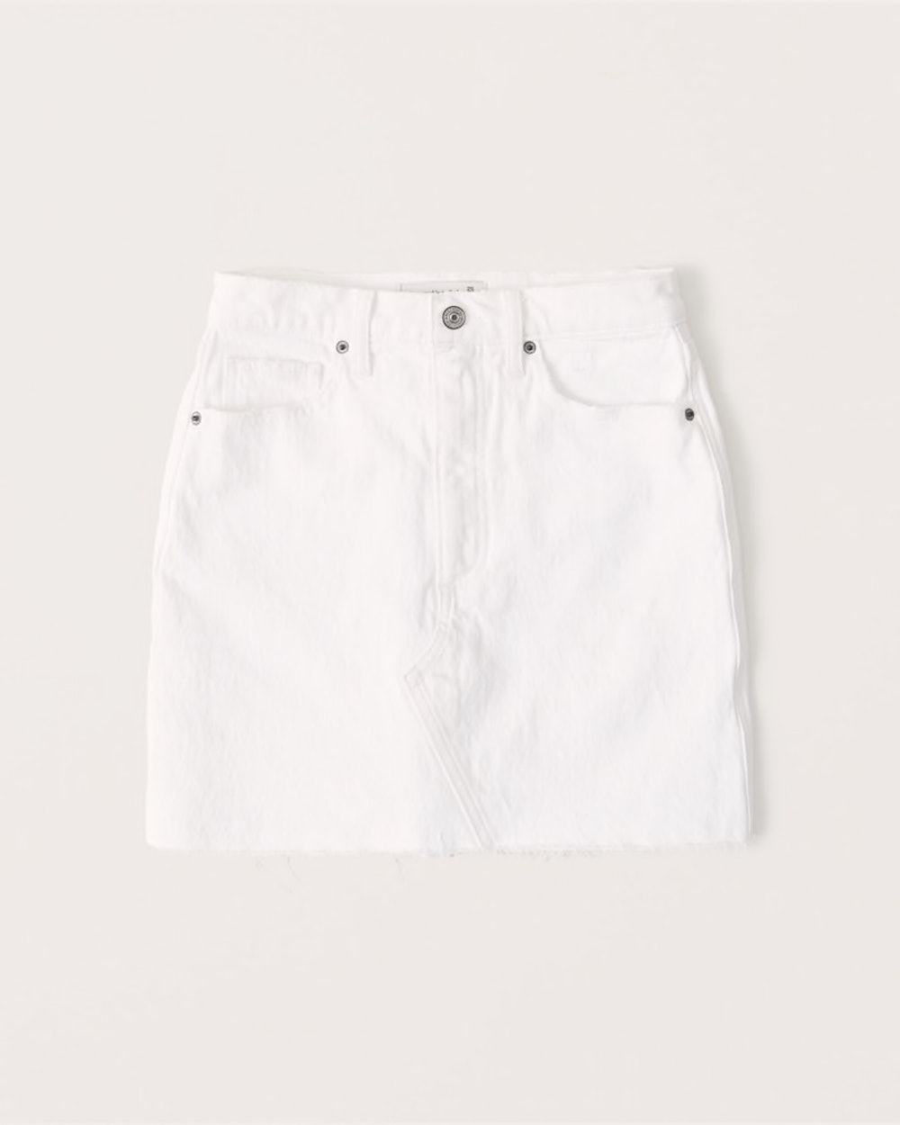 Curve Love Denim Mini Skirt