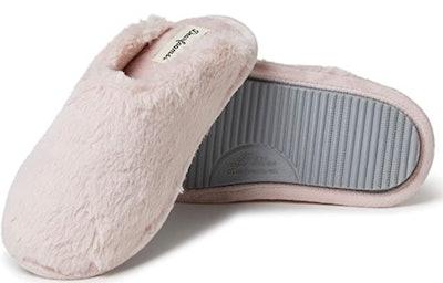 Women's Bailey Plush Furry Scuff Slipper