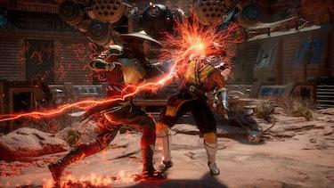 mortal kombat 11 punch gameplay multiplayer
