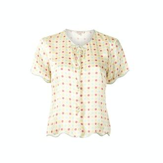 Morgan Lane Beatrice pyjama shirt