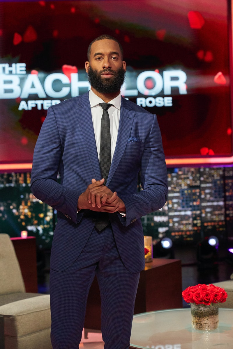 Matt James during the 'After the Final Rose' special of his season of 'The Bachelor.'