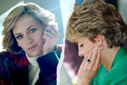 Princess Diana's Engagement Ring Replica On 'Spencer' Is Inspiring Twitter Reactions