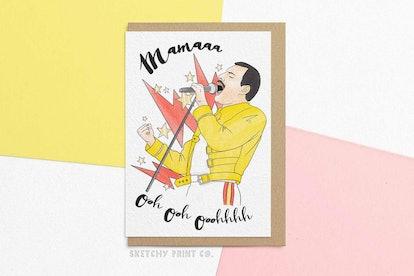 Mother's Day & Birthday Card | Mamaa Ooh Ooh Ooooh