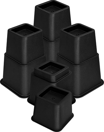Utopia Bedding Adjustable Bed Risers (8 Pack)