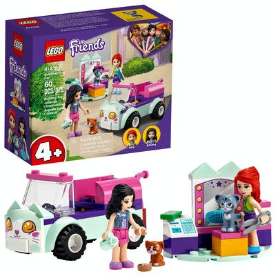 LEGO Friends Cat Grooming Car Building Toy