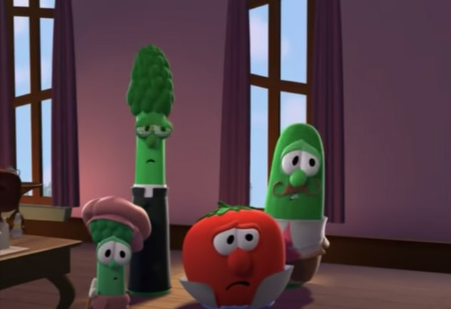 'Veggie Tales: An Easter Carol' tells the story of Easter through veggies.