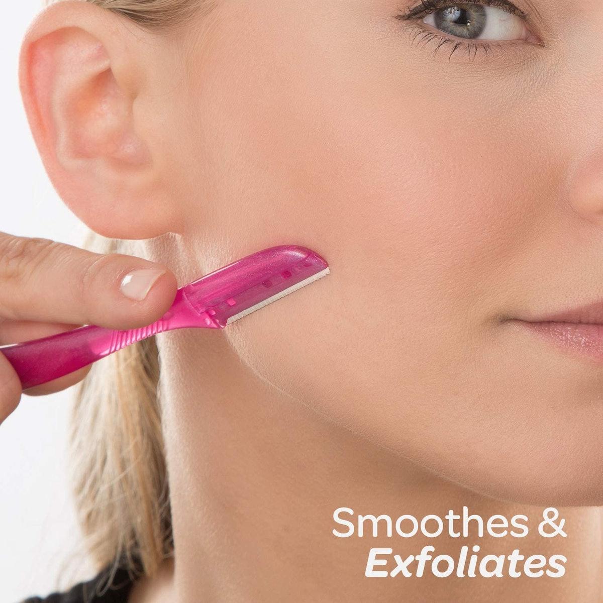 Schick Silk Exfoliating Dermaplaning Tool (3-Pack)