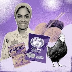 'Great British Bake Off' winner Nadiya Hussain on getting through lockdown