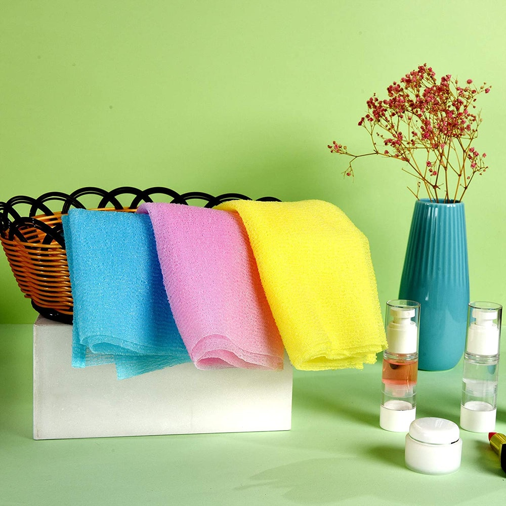 ARCH&M Exfoliating Washcloth Towel (3-Pack)