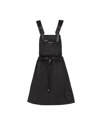 Re-Nylon Gabardine Pinafore Dress