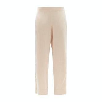 Asceno Silk pajama trousers