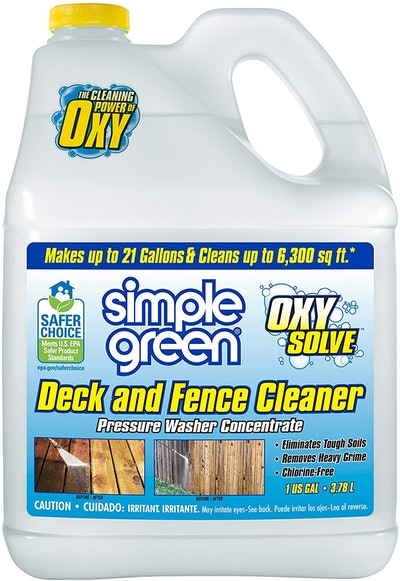 Simple Green Oxy Solve Pressure Washer Cleaner, 127.8 Oz.