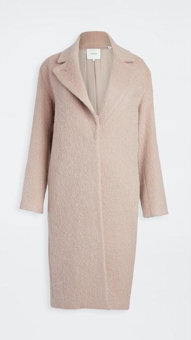 Textured Wool Coat