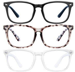 Blue Light Blocking Glasses (3 Pairs)
