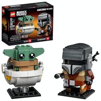 LEGO BrickHeadz Star Wars The Mandalorian & The Child Star Wars Building Toy