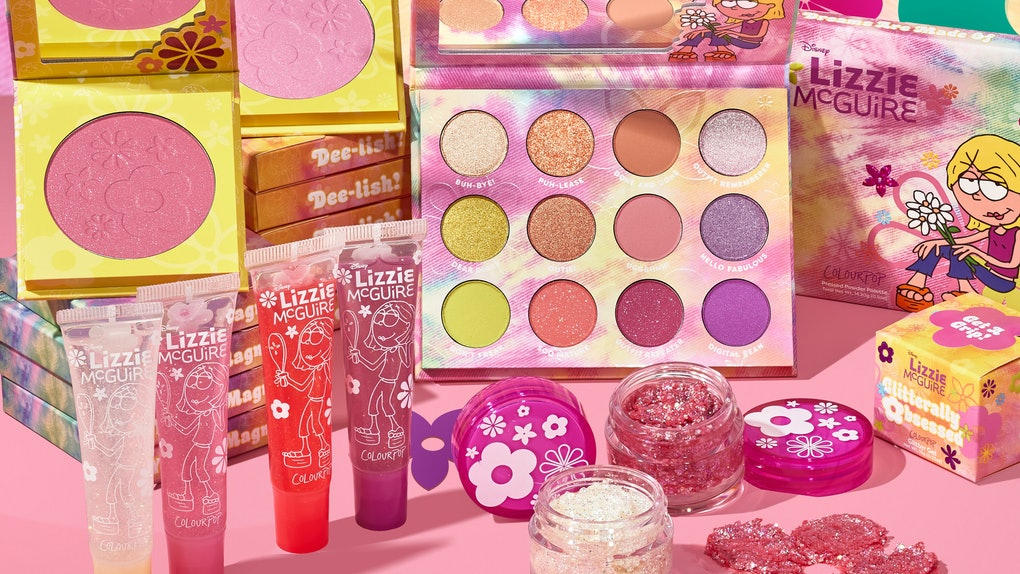"""ColourPop's """"Lizzie McGuire"""" collection in full."""