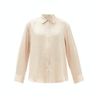 Asceno Silk pajama top