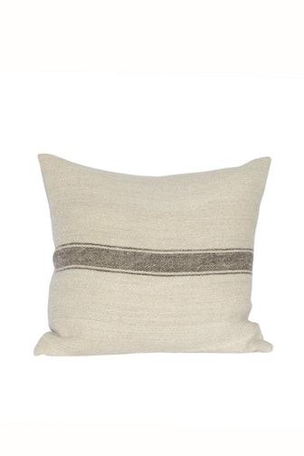 Hazel Vintage Grain Sack Pillow