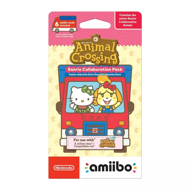 Here's what to know about if the 'Animal Crossing' Sanrio Amiibo Cards will restock at Target locations.