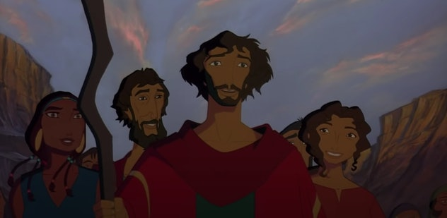'The Prince of Egypt' retells the story of the Book of Exodus.