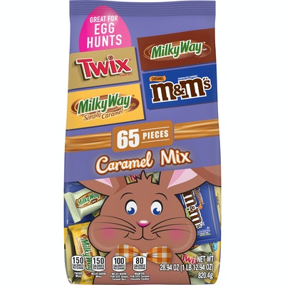 M&M'S, Milky Way, Twix, Milky Way Caramel Assorted Easter Chocolate Candy