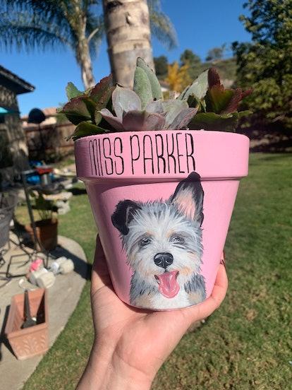 Personalized Pet Pot