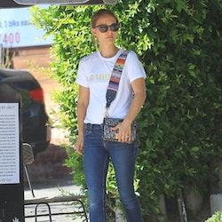 LOS ANGELES, CA - SEPTEMBER 17: Natalie Portman is seen on September 17, 2019 in Los Angeles.
