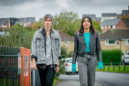 Taj Atwal and Joe Sugg in 'The Syndicate'
